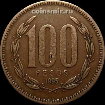 100 песо 1987 Чили.