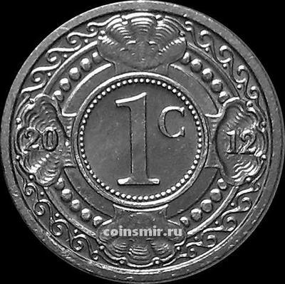 1 цент 2012 Нидерландские Антильские острова.