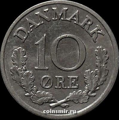 10 эре 1965 C;S Дания.