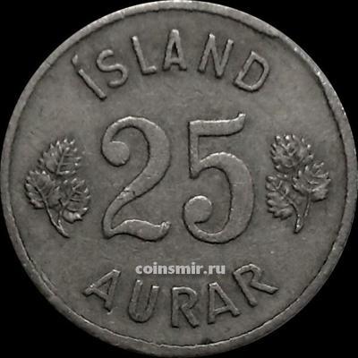 25 эйре 1951 Исландия.