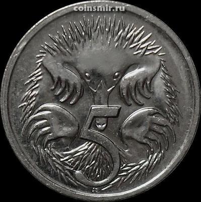 5 центов 2003 Австралия. Ехидна.