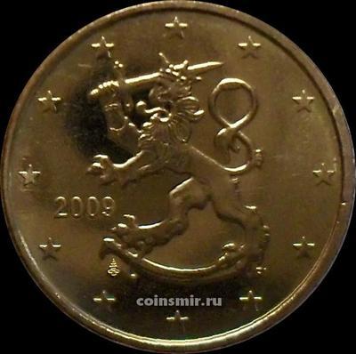 50 евроцентов 2009 FI Финляндия.