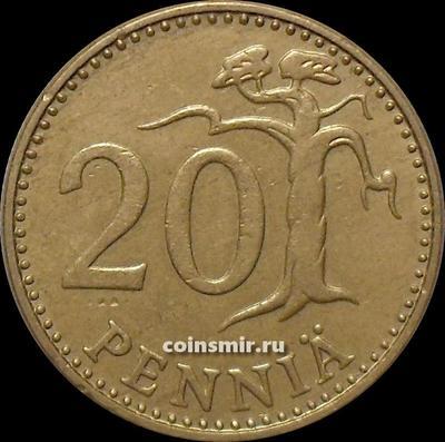 20 пенни 1971 S Финляндия.