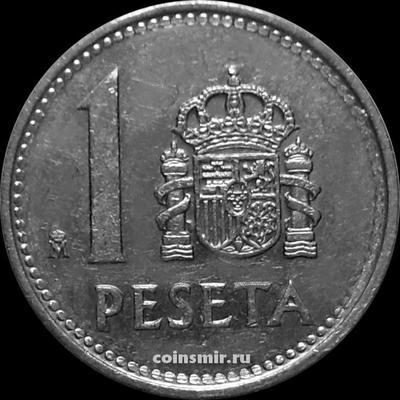1 песета 1988 Испания.