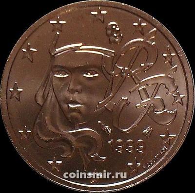 2 евроцента 1999 Франция.