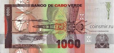 1000 эскудо 1989 Кабо-Верде.