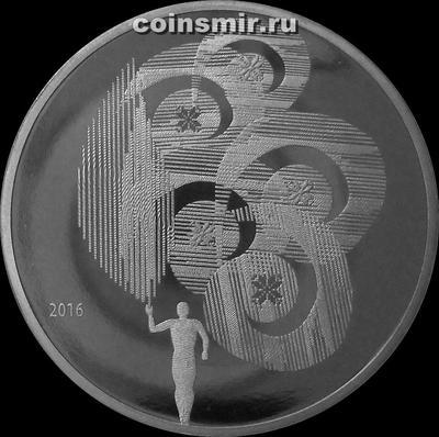 1 рубль 2016 Беларусь. Олимпийское движение Республики Беларусь.
