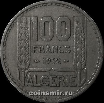 100 франков 1952 Французский Алжир.