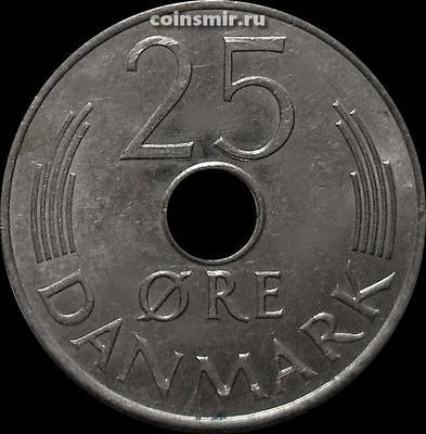 25 эре 1985 R,B Дания.