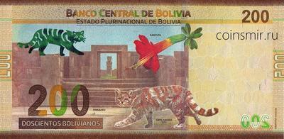200 боливиано 2019 Боливия.