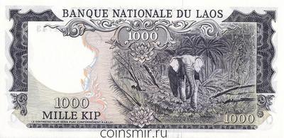 1000 кип 1974 Лаос.