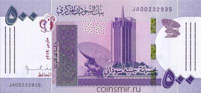 500 фунтов 2019 Судан.