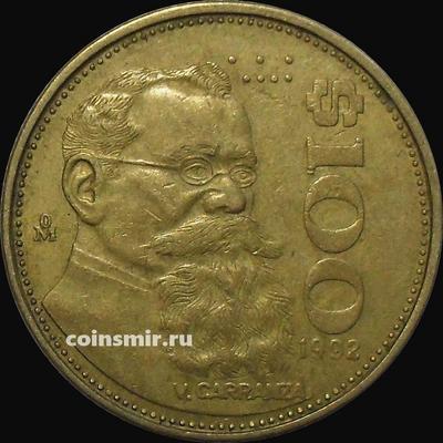 100 песо 1992 Мексика.