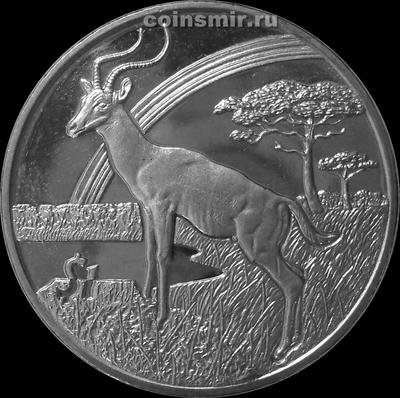 1 доллар 2006 Сьерра-Леоне. Антилопа.