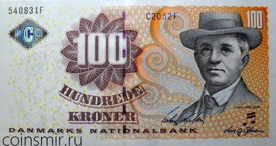 100 крон 2005 Дания.