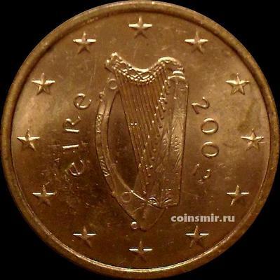 5 евроцентов 2002 Ирландия.