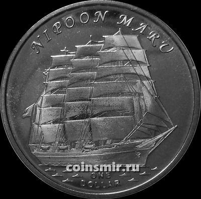 1 доллар 2018 острова Гилберта. Ниппон Мару.