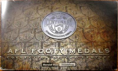 Набор из 17 жетонов 1996 Австралия. Австралийская футбольная лига.