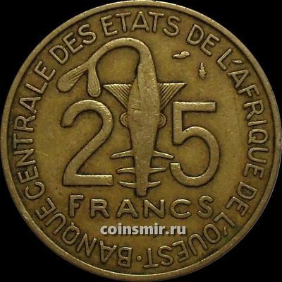 25 франков 1978  КФА BCEAO (Западная Африка).