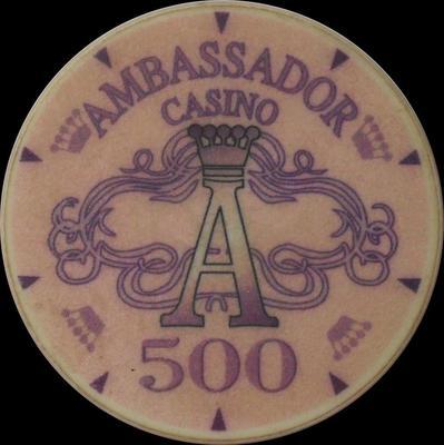 Фишка казино Амбассадор в 500 у.е.