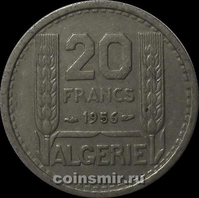 20 франков 1956 Французский Алжир.