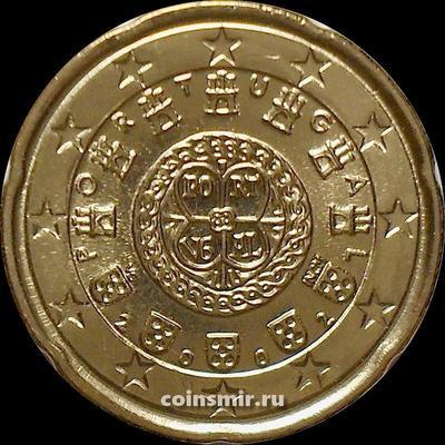 20 евроцентов 2002 Португалия.