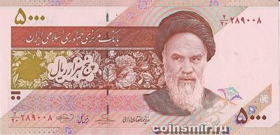 5000 риалов 2009-2010  Иран.
