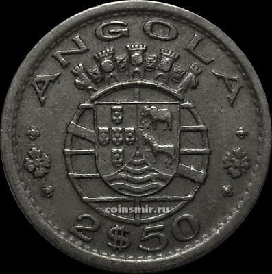 2,5 эскудо 1953 Португальская Ангола.