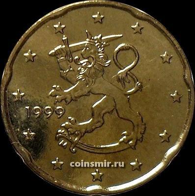20 евроцентов 1999 Финляндия.