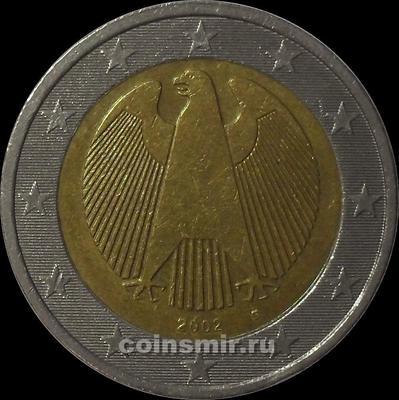 2 евро 2002 G Германия.