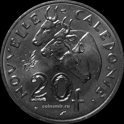 20 франков 2002 Новая Каледония.