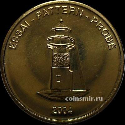 10 евроцентов 2004 Фарерские острова. Маяк. Европроба. Ceros.