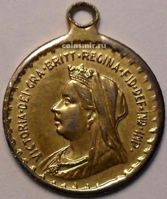 Ммедальон  Королева Виктория.
