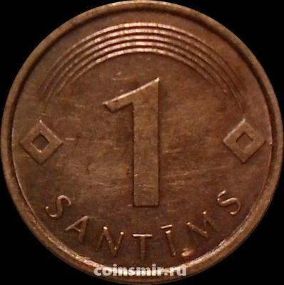 1 сантим 2007 Латвия.