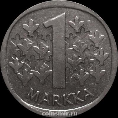 1 марка 1990 М Финляндия.