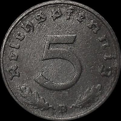 5 пфеннигов 1940 В Германия. Третий рейх.