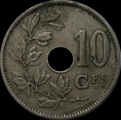 10 сантимов 1929 Бельгия. BELGIQUE.