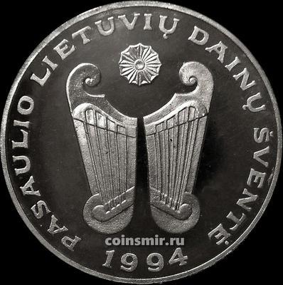 10 лит 1994 Литва. Фестиваль литовской песни.
