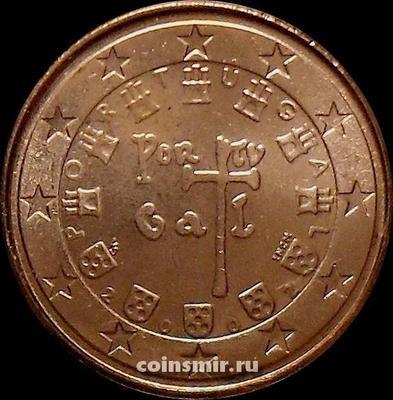 1 евроцент 2002 Португалия.