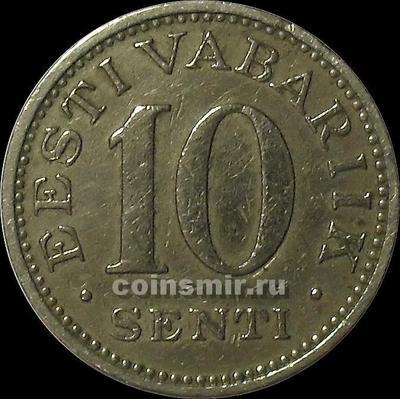 10 сентов 1931 Эстония.