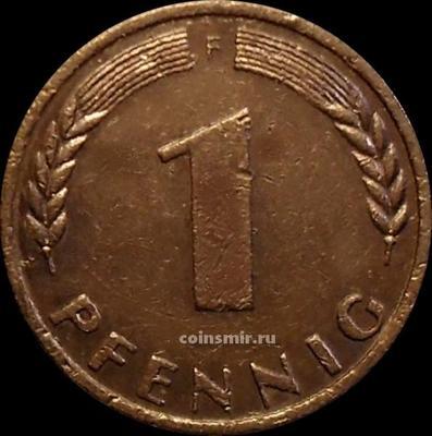 1 пфенниг 1950 F Германия (ФРГ).