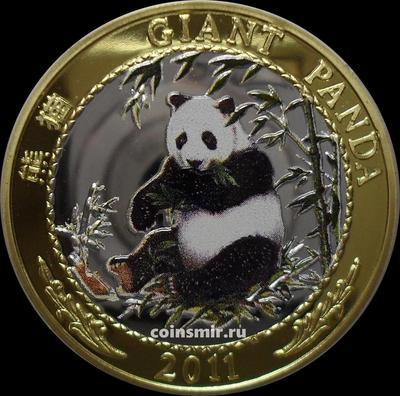 20 вон 2011 Северная Корея. Гигантская панда.