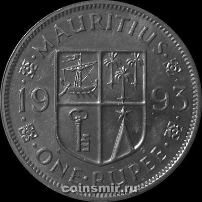1 рупия 1993 Маврикий.