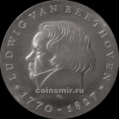 10 марок 1970 ГДР. Людвиг ван Бетховен.