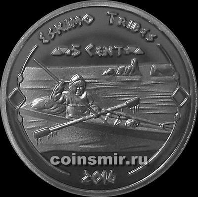 5 центов 2016 Эскимосы.