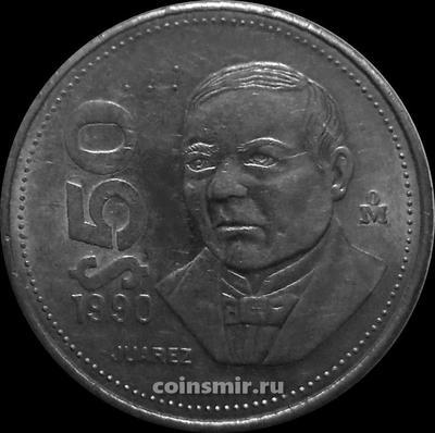 50 песо 1990 Мексика.