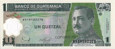 1 кетсаль 2006 Гватемала.