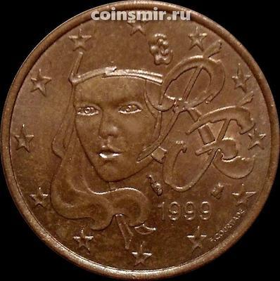 5 евроцентов 1999 Франция. XF