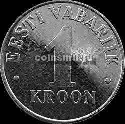 1 крона 1995  Эстония.