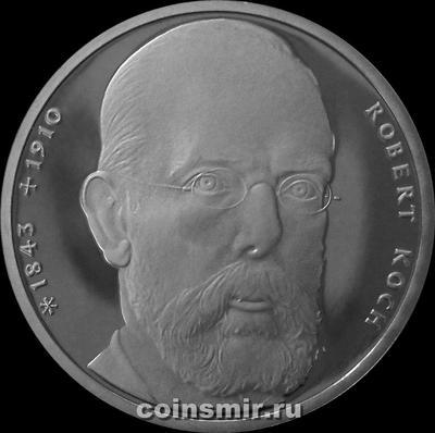 10 марок 1993 J ФРГ. Генрих Кох. Пруф.